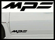 2 X MAZDA MPS Large Vinyl Car Stickers Decals MPS Mod Body Panel Glass Graphic