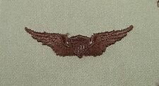 US Army Desert Tan Cloth Aviator Pilot Badge - Wing