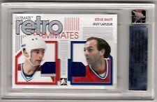 GUY LAFLEUR STEVE SHUTT /06 ITG Ultimate Teammates Jersey Montreal Canadiens SP