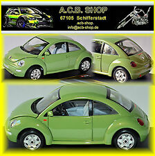 VW Volkswagen New Beetle 1997-2010 grün green metallic 1:24