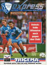 BL 91/92 VfL Bochum - 1. FC Nürnberg