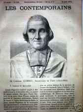 MGR GUIBERT 1802-86 Aix-en-Provence ARCHEVEQUE PARIS