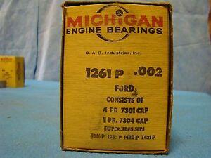 Ford 330 332 352 361 390 406 427 428 Main Bearings 002 Edsel Mercury Thunderbird