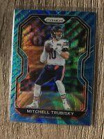 2020 Prizm 94/199 MITCHELL TRUBISKY Blue Wave Prism Panini #187 Mitch