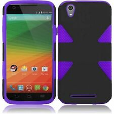 For T-Mobile ZTE ZMAX Z970 IMPACT TUFF HYBRID Case Skin Phone Cover Accessory