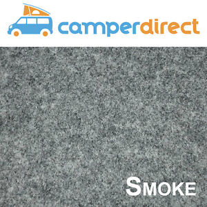 2m x 6m - Smoke Van Lining Carpet Kit 4 Way Stretch Inc 6 Tins High Temp Spray