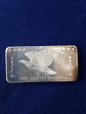 1971 Foster Inc. Flying Eagle 1971 FC-3 Silver Art Bar P0570