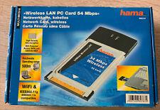 Hama WLAN PC Card PCMCIA Wifi - 54 Mbps