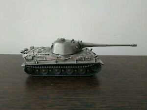 Collectible Metal Model of the German Tank Lowe Scale 1:72. World of Tanks.
