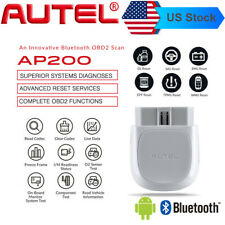Autel Automotive OBD2 Car Bluetooth Diagnostic Full Systems Scanner MaxiAP AP200