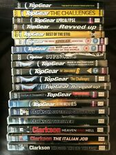 Top Gear & Clarkson X 19 DVD Bundle