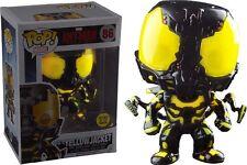 Funko Pop Yellowjacket Glow in The Dark # 86 Marvel Ant-man Bobble Head