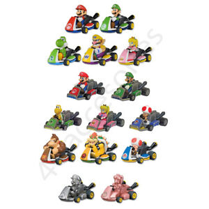 Tomy Toys Mario Kart Tour 8 Eight Racers Pull Back Nintendo Figures Choose