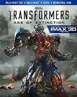 Transformers: Age of Extinction [New Blu-ray 3D] With Blu-Ray, With DVD, Boxed