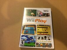 Wii PLAY NINTENDO Wii GAME COMPLETE W/ DISC DIRECTIONS & CASE TESTED