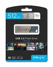 NEW PNY Pro Elite 512GB 400MB/sec USB 3.0 Premium Flash Drive P-FD512PRO-GE