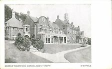 Sheffield. George Woofindin Convalescent Home.
