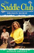 Very Good, Broken Horse (Saddle Club), Bryant, Bonnie, Book