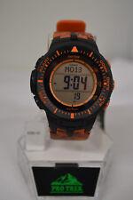 NEW  Casio Protrek Triple Sensor Tough -Solar Camouflage Orange Watch PRG300CM-4