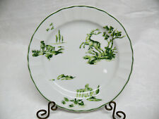 Bernardaud Limoges Versailles Green, Bread & Butter Plate, French Country Scenes