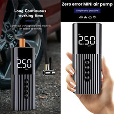 Portable Air Pump Wireless Air Electric Tire Inflator for Car Bike Bicycle Auto