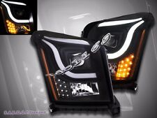 15-16 GMC Yukon XL Denali/SLE/SLT Utility 4D LED CCFL Projector Headlights Black