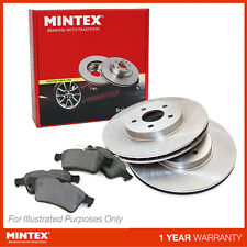 New VW EOS 1F8 2.0 FSI Convertible Genuine Mintex Front Brake Disc & Pad Set