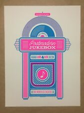 Scott Bradlee's Postmodern Jukebox rare concert poster 45/200 Pmj 2015 17.5x23