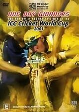 CRICKET: ONE DAY WONDERS: REVIEW OF AUSTRALIA'S WIN AT WORLD CUP 2003 – DVD