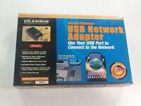 Linksys USB Network Adapter Model #USB10T