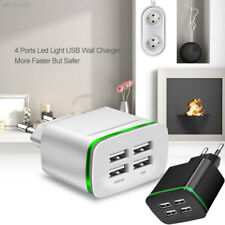 AEFF 4A 5V Durable Charger 4 USB Sockets Light High Quality Wall Charger