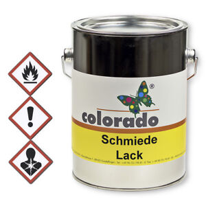 Kunstschmiedelack, Effektlack, Metallschutz Lack, Eisenglimmerlack - 2,5 Liter