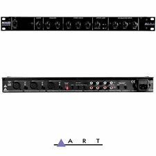 ART MX622 Stereo 6 Channel rack mixer with fx loop  with phantom power