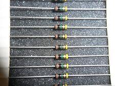 RCR07G105JS  1.0 MEG Ohm 1/4W .25W Resistor Carbon Comp (5 PER LOT)