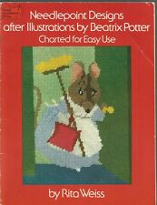 Needlepoint Designs after Illustrations by Beatrix Potter by Rita Weiss 1976, PB
