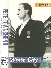 PETE TOWNSHEND WHITE CITY A NOVEL CASSETTE ALBUM ATCO THE WHO