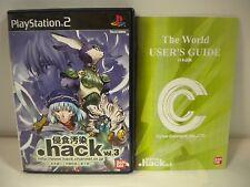 PlayStation2 -- .hack(Dot hack) Shinsyoku Osen vol.3 -- PS2. JAPAN GAME. 38161