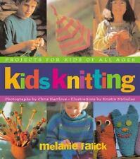 Kids Knitting by Melanie Falick (1998, Trade Paper DJ) New