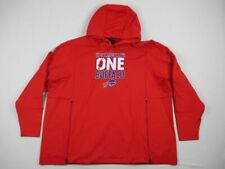 NEW Nike Buffalo Bills - Men's Red Poly Sweatshirt (3XL)
