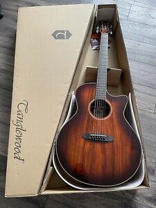 Venetian Cutaway Electro Acoustic Guitar Tanglewood TW4 VC KOA RRP £449 Fishman