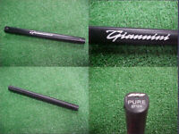 New Black Giannini Standard Size PURE Golf Putter Grip