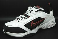 Nike Air Monarch III Mens Shoes White Black Leather Running  312628 101 Vintage