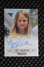 TRUE BLOOD Lindsay Pulsipher as Crystal Norris AUTOGRAPH CARD