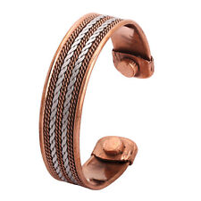 Bio Celtic Magnet Pure Copper Bracelet-Bangle Arthritis Pain Relief Strength