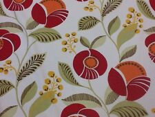 Designer Montgomery Delilah Curtain Fabric 100% Cotton By The Metre