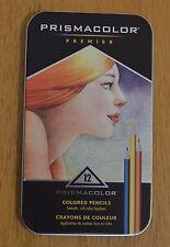 PRISMACOLOR METAL PREMIER 12 Colored Pencils Pastelli Matite - ART PROFESSIONAL