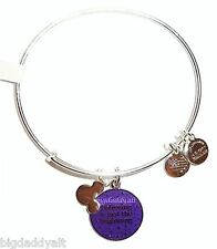 New Disney Alex & Ani TinkerBell Believing Is Just the Beginning Bracelet Silver