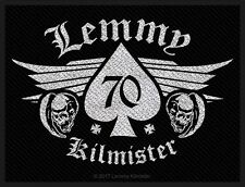 Motörhead Lemmy Kilmister 70  Patch/Aufnäher 602771 #