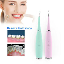 Dental Electric Ultrasonic Scaler Teeth Whitening Calculus Clean Stains Remover