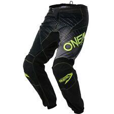 O'Neal Element Racewear Black/Hi Viz Youth Pants 2018 Size 5/6